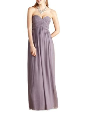 Donna Morgan  LAURA SOLID STRAPLESS GOWN