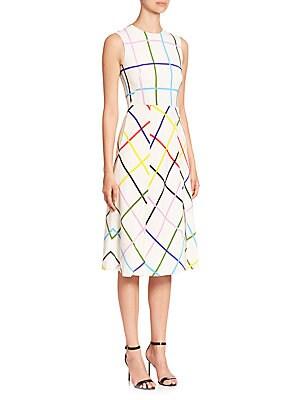 Osmond Lion Stripe Dress