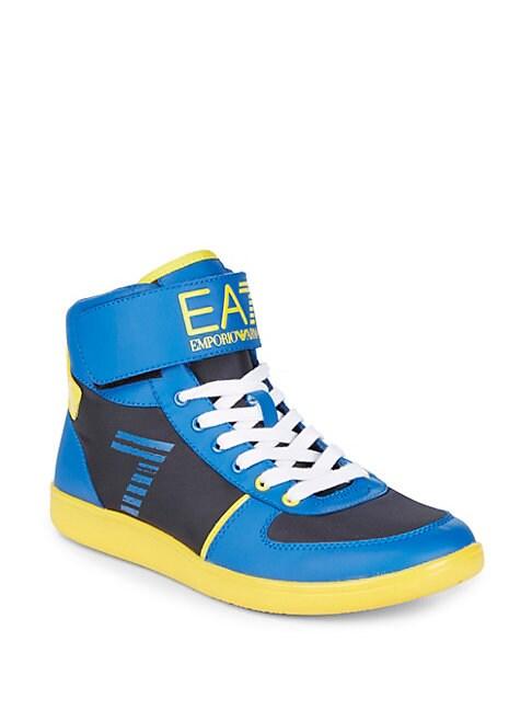 EA7 High-Top Sneakers