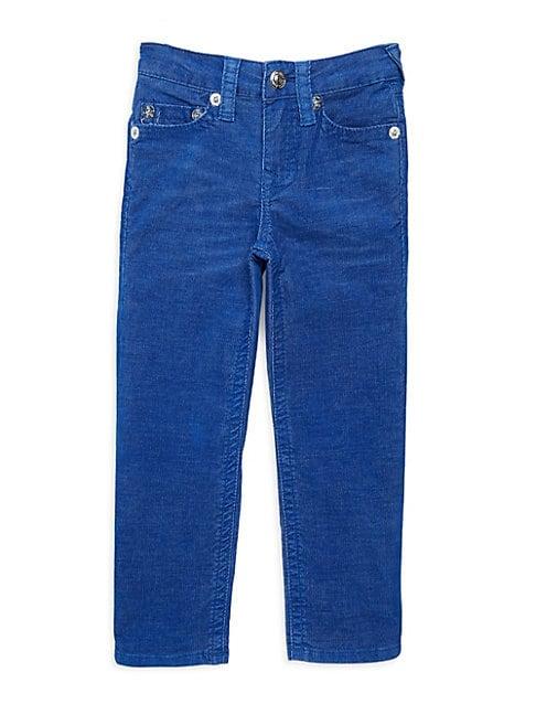 Boy's Slim-Fit Cord Jeans
