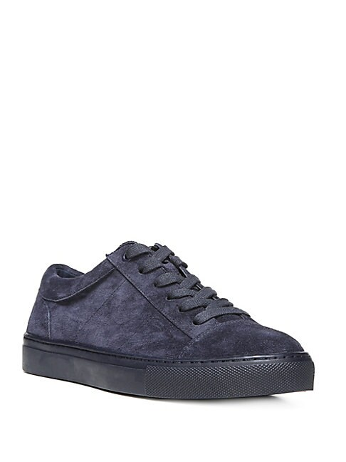 0e38b92d7a1a Vince Afton Suede Low-Top Sneakers In Deep Blue