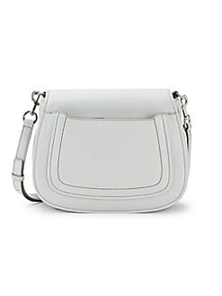 157c429c08c Product image. QUICK VIEW. Marc Jacobs. Pebbled Leather Saddle Crossbody Bag