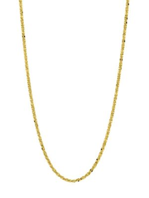 Saks Fifth Avenue Yellow Gold Sparkle Chain Necklace
