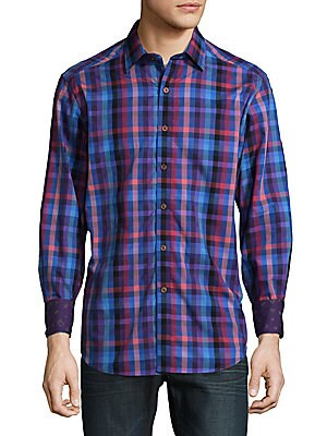 Beihlers Cotton Casual Button-Down Shirt