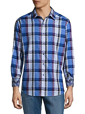 Prevost Cotton Casual Button-Down Shirt