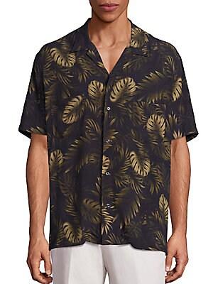 Cabana Tropical Print Shirt
