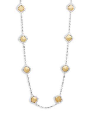 Gurhan  Sterling Silver Single Strand Necklace