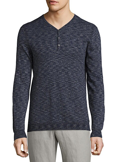 Space Dyed Henley