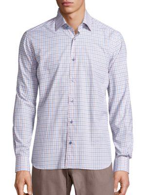 Saks Fifth Avenue  Cotton Button-Down Shirt
