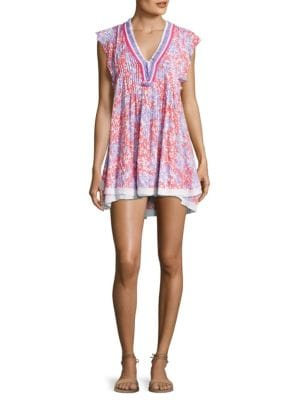 Poupette St Barth Mini Floral Print Sasha Dress