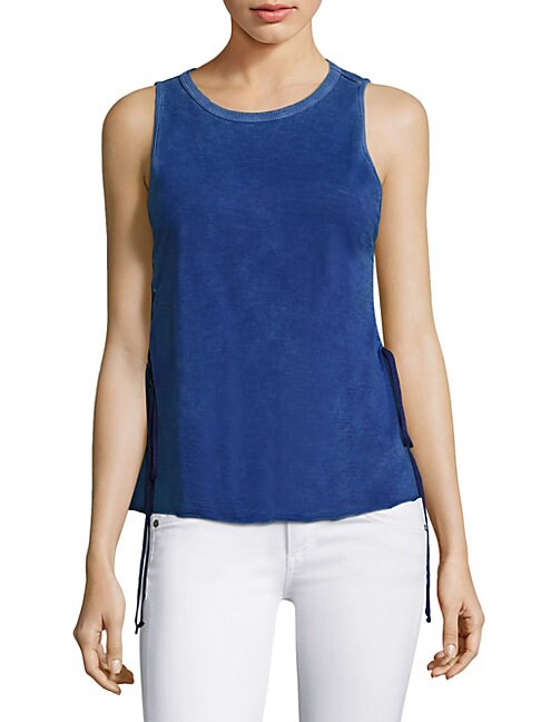 FEEL THE PIECE | Kelton Velvet Tank Top | Goxip