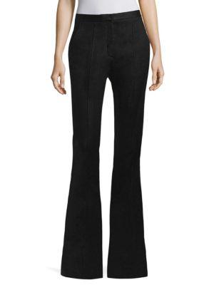 Diane Von Furstenberg  Pleated Flared Pants