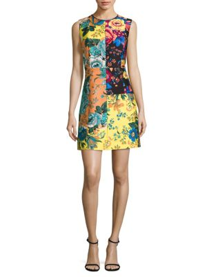 Diane Von Furstenberg  Tailored Shift Dress
