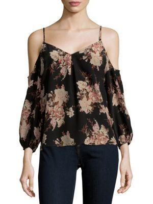 Joie Eclipse Floral Silk Top