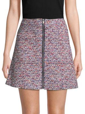 Parker  Tweed A-Line Skirt