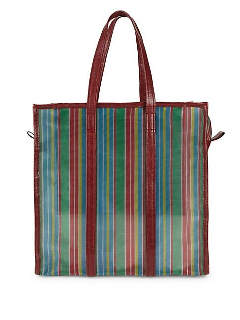 Medium Bazar Mesh Stripe Shopper