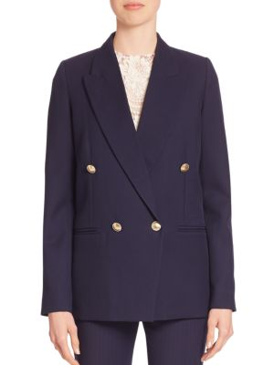 Victoria Beckham Wools Wool Tuxedo Blazer