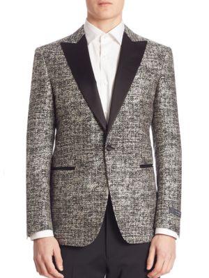 Pal Zileri  Peak Lapel Formal Jacket