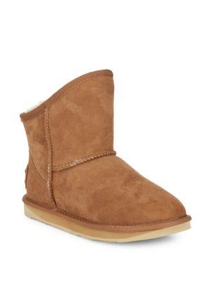 奢华Cosy Short靴子