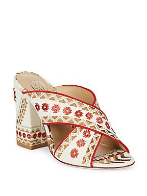 f694eaf01ee Ash - Adel Textile Block Heel Sandals