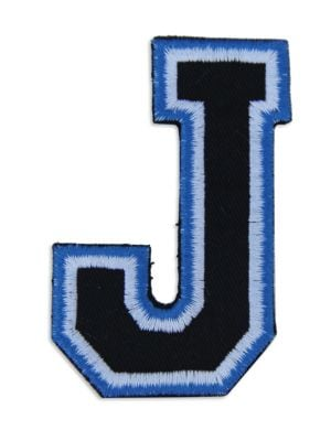 Logophile Embroidered J Patch