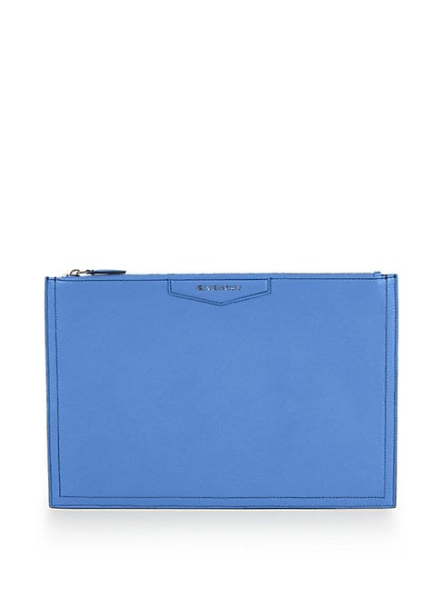 Antigona Leather Zip Pouch
