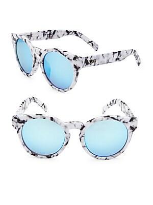 Gradient 51MM Round Sunglasses