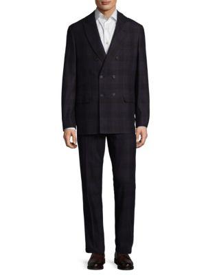Brunello Cucinelli  Plaid Suit