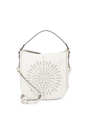 Furla Emma Leather Hobo Bag
