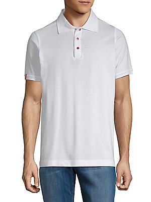Cotton Snap Button Polo