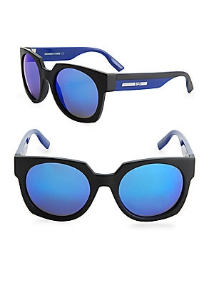 53MM Square Sunglasses