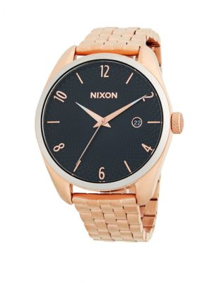 Nixon Bullet Stainless Steel Bracelet Watch