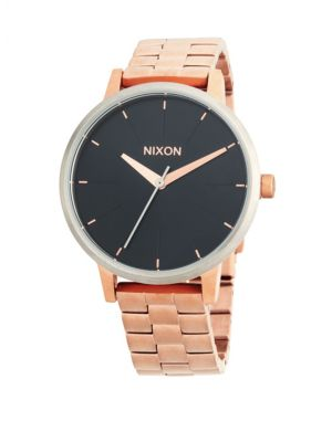 Nixon Kensington Stainless Steel Quartz Bracelet Watch