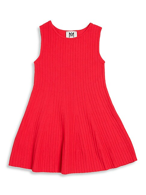 Girls Ottoman Fit  Flare Dress