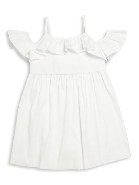 Girls Stretch Cotton Poplin Bella Dress