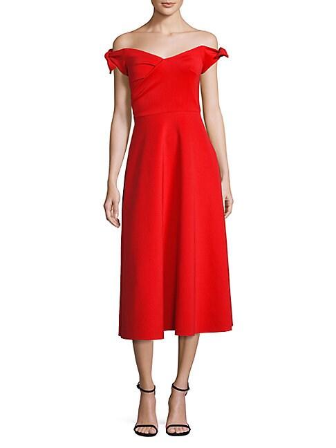 Ruth Off-The-Shoulder Dress