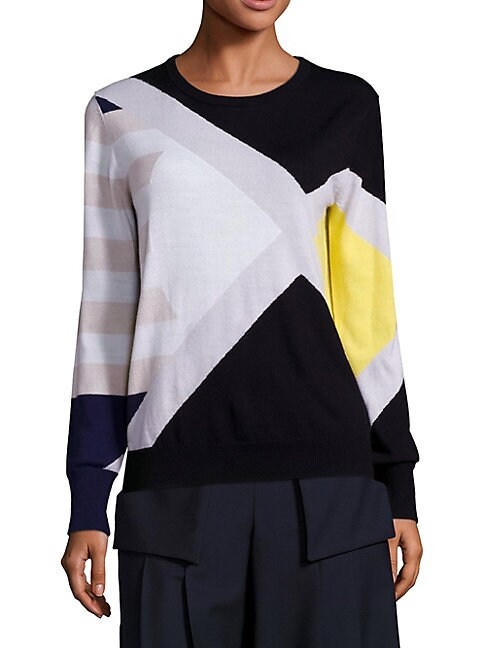 Ina Graphic-Print Sweater