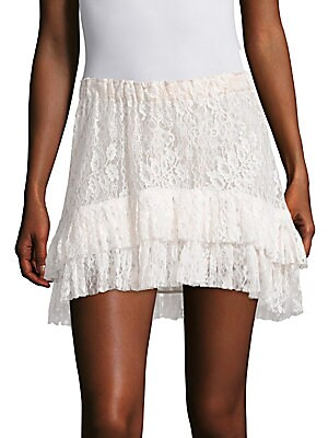 Kara Tiered Lace Skirt