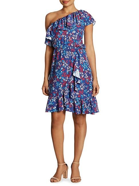 Laela Off-The-Shoulder Stretch-Cotton Dress