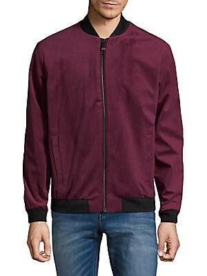 Full-Zip Velvet Jacket