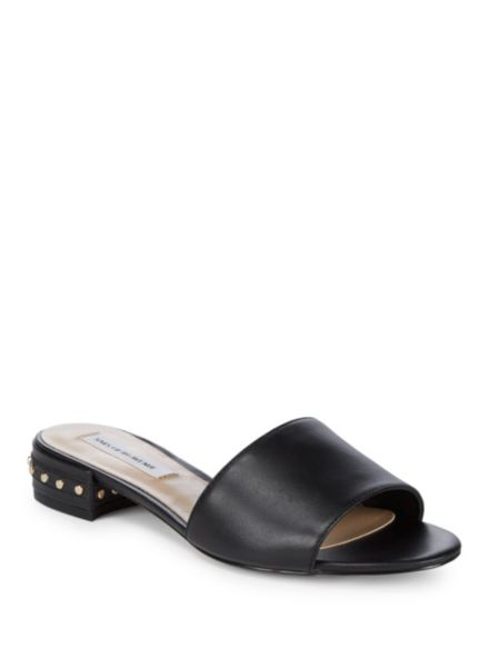 Leather Twist Sandals by Ava & Aiden