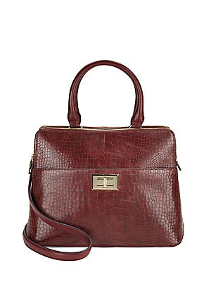 Agnyess Leather Handbag