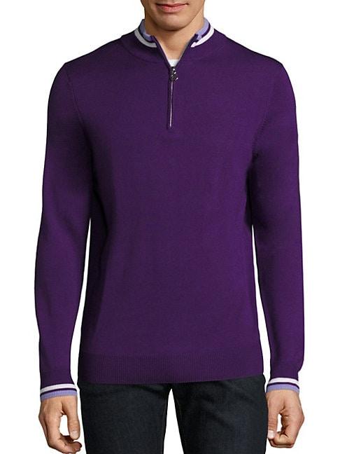 Merino Wool Ribbed Sweater