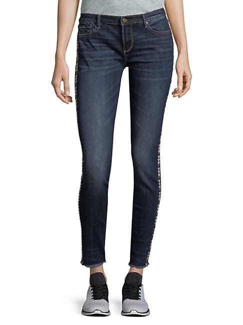 Driftwood Marilyn Frayed Skinny Jeans
