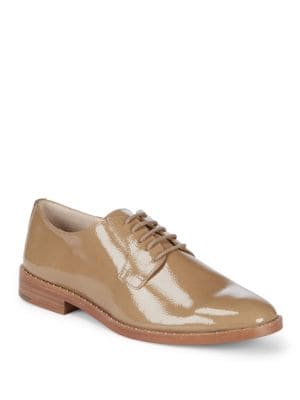 Loanna Leather Oxfords in Sabbia