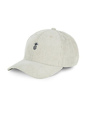Pineapple Corduroy Baseball Cap