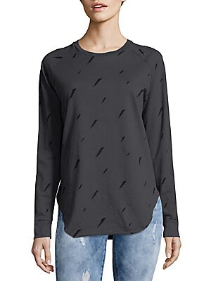 Thunderbolt Cotton Sweatshirt