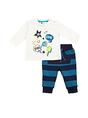 Baby's Two-Piece Techno City Top and Pants Set