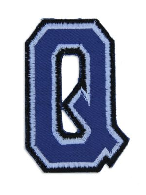 Logophile Embroidered Q Patch