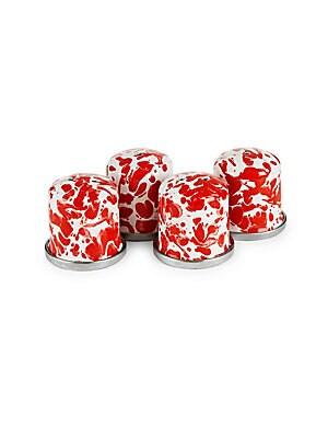 Four-Piece Swirl Salt & Pepper Shaker Set